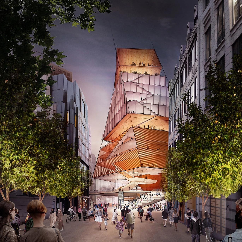 Itt vannak a gigantikus új londoni koncertterem tervei